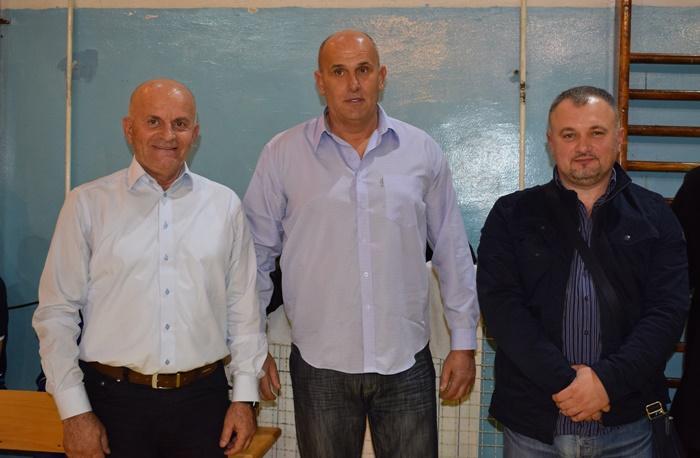 Načelnik Kalesije Sead Džafić, predsjednik OS FBiH Miloš Jelčić i predsjedavajući OV dr.Enes Idrizović